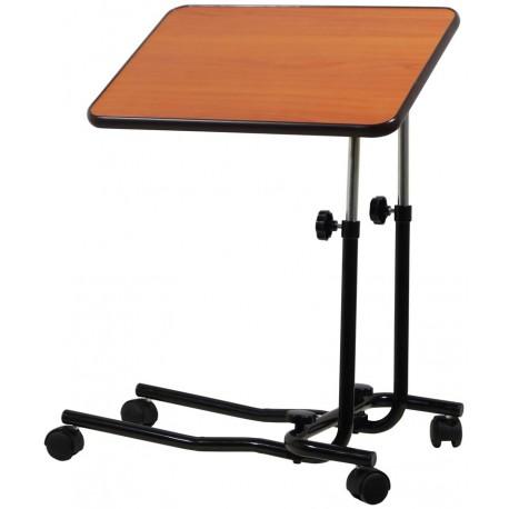 Table de lit inclinable réglable en hauteur - Manger, lire, écrire au lit