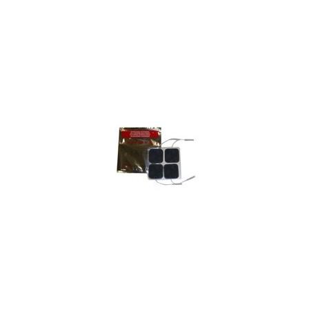 Electrodes hypoallergéniques carrée 50x50 mm