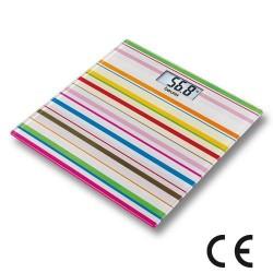 Pèse-personne Design Happy Stripes