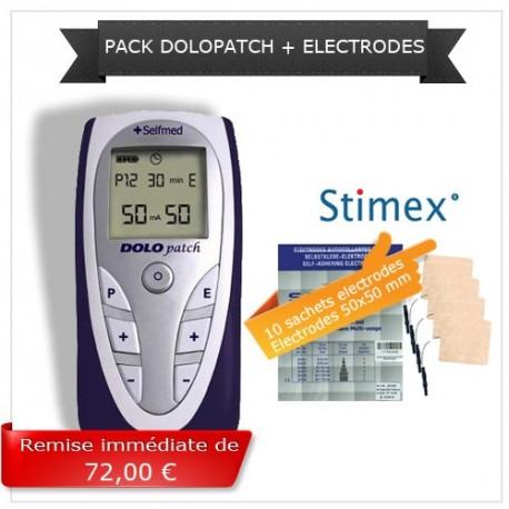 Pack électrostimulation Dolopatch + électrodes