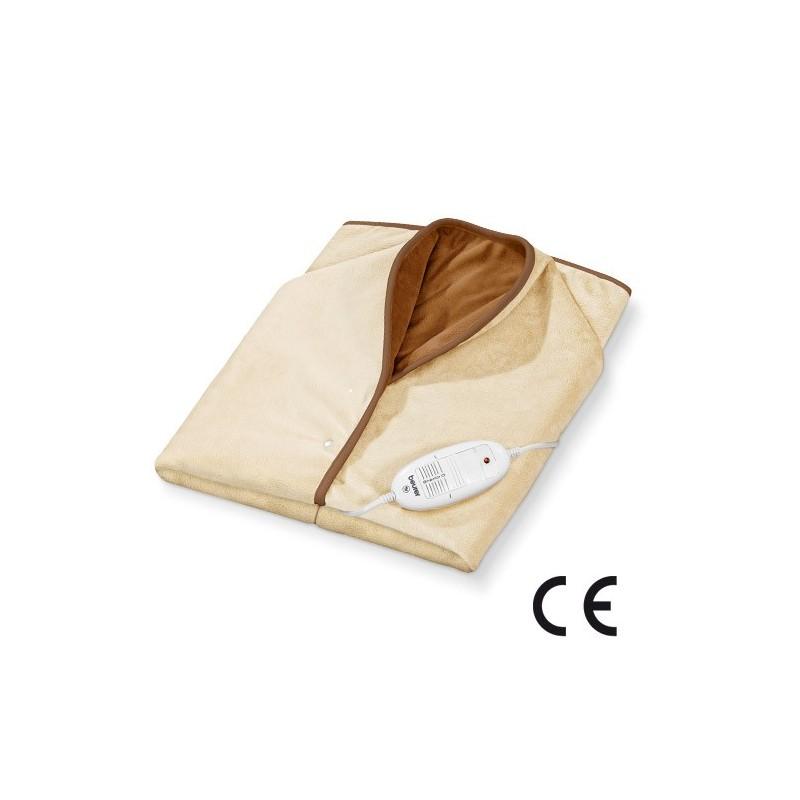Couverture chauffante cape dos nuque cervical couverture chauffante - Couverture chauffante lit ...