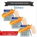 Pack sachets électrodes adhésives 50x50 mm
