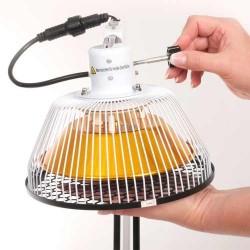 Tête de rechange lampe infrarouge chauffante