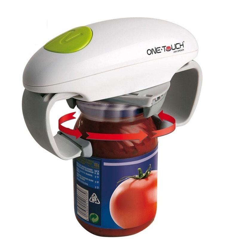 Ouvre bocal automatique bocaux pots de confiture vie pratique for Idee boutique a ouvrir