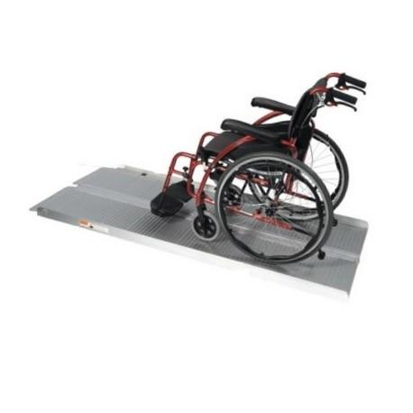 Rampe d'accès pliable fauteuil roulant 152 cm - Rampes d'accès ERP