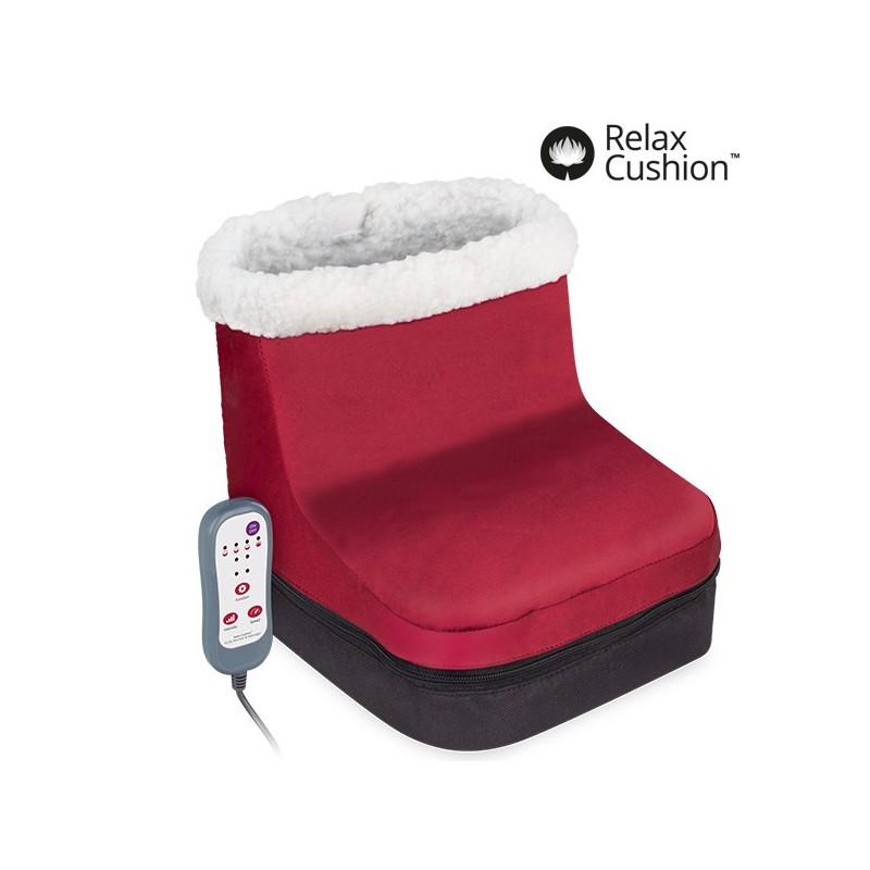 Coussin massant chauffant pour les pieds massages relaxants - Coussin chauffant massant ...