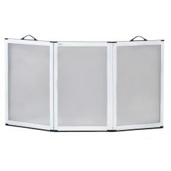 Panneau de douche anti-éclaboussures à trois volets portascreen - Aides au bain