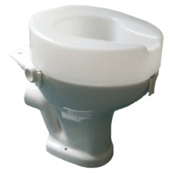 Lunette de wc rehaussée ashby taille hauteur du siège 150mm - Chaise percée sans roulette