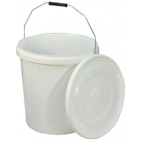 Seau 20 litres avec couvercle pour la chaise percée norfolk - import