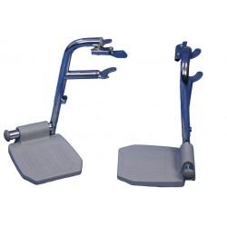 Jeu de repose-pieds pour siège percée mobile linton - import