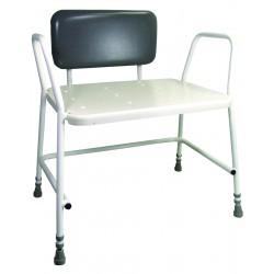 Tabouret de douche bariatrique à hauteur réglable - Assise salle d'eau