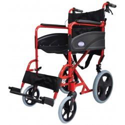 Fauteuil roulant en aluminium compact et pliable - import