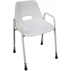Chaise de douche portatif empilable  adjustable