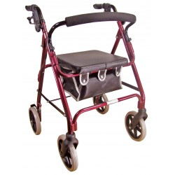 Déambulateur à 4 roues stable, solide et léger - Déambulateur 4 roues