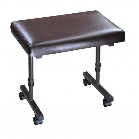 Tabouret repose-jambes avec ou sans roulettes - import
