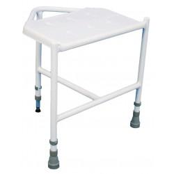 Tabouret d'angle penbury réglable en hauteur - Assise salle d'eau