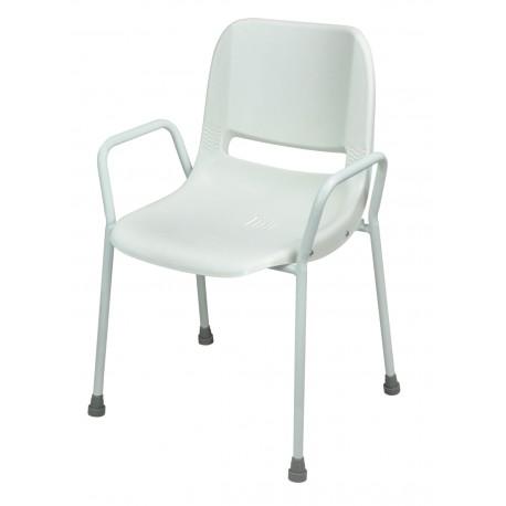 Chaise de douche portatif empilable milton - Assise salle d'eau