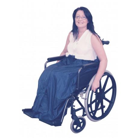 Couverture doublée pour fauteuil roulant - Accessoires fauteuil roulant