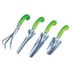 Lot de 4 outils de jardin ergonomiques - Outils de jardinage