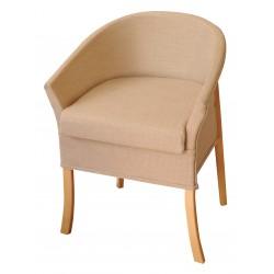 Chaise d'aisance luxueuse lancaster - Chaise percée sans roulette