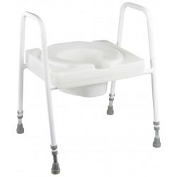 Lunette de wc et cadre ashby lux - Siège toilette réhausseur