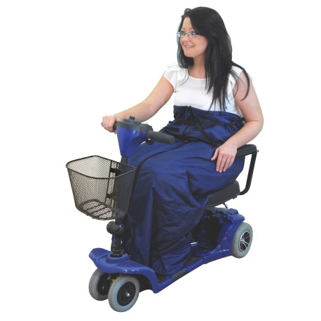 Couverture doublée pour scooter - Accessoires fauteuil roulant