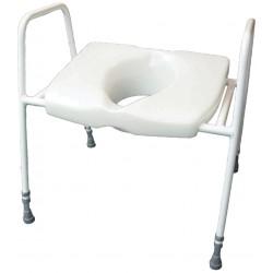 Lunette de wc et cadre cosby - Siège toilette réhausseur