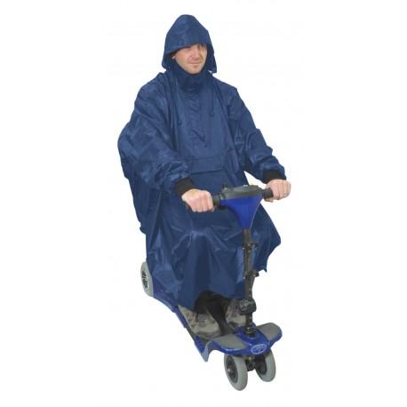 Poncho deluxe pour scooter - Accessoires fauteuil roulant
