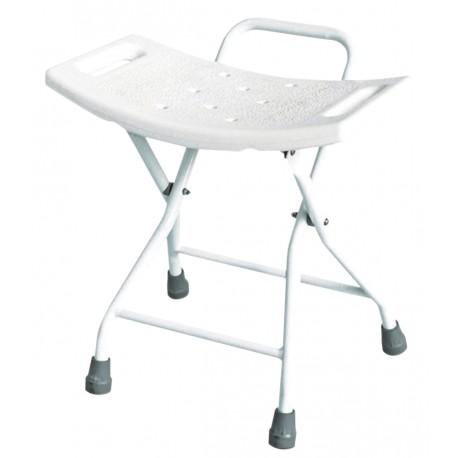 Chaise de douche pliable - Assise salle d'eau