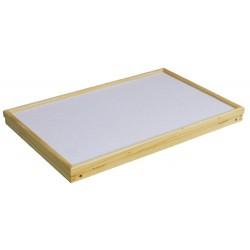Plateau en bois pliable et inclinable pour petit-déjeuner au lit - Manger, lire, écrire au lit