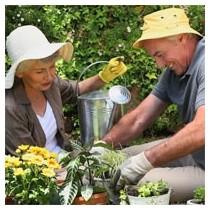 Outils de jardinage senior - Matériel de jardinage ergonomique pour seniors