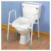 Siège toilette réhausseur - Sécurité WC