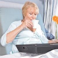 Manger, lire, écrire au lit pour les personnes alitées : Medico Boutique